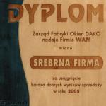 SREBRNA FIRMA DAKO 2005